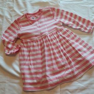 Baby gap fall cotton dress 6 12 months girls